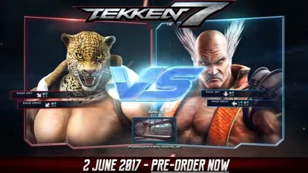 Tekken 7: uno spettacolare scontro tra King e Heihachi