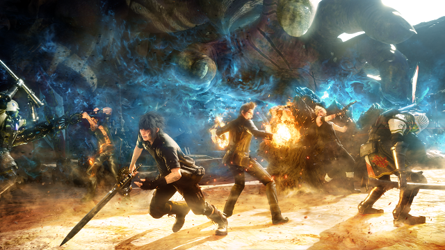 Screenshot della nuuova patch in arrivo per Final Fantasy XV