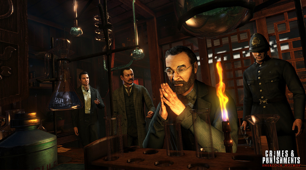Sherlock Holmes: Crimes & Punishments - Gameplay PS4