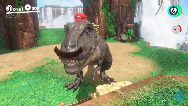Super Mario Odyssey: il Cascade Kingdom è il protagonista del nuovo video