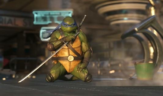 Kawabonga - Le Tartarughe Ninja sono pronte alla lotta su Injustice 2