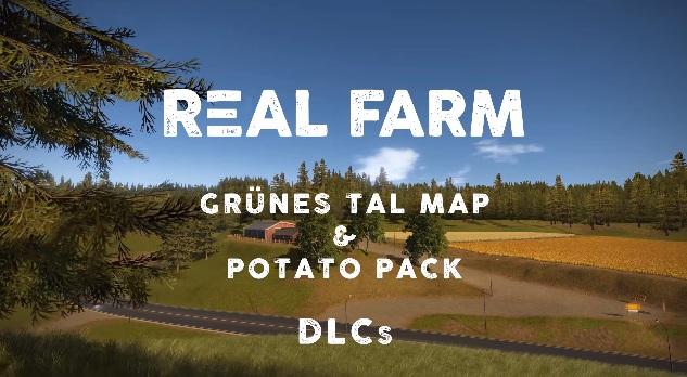 Real Farm - A marzo arrivano il Potato Pack e la mappa Grà¼nes Tal