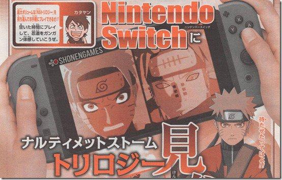 Naruto Shippuden: Ultimate Ninja Storm Trilogy arriverà per Nintendo Switch