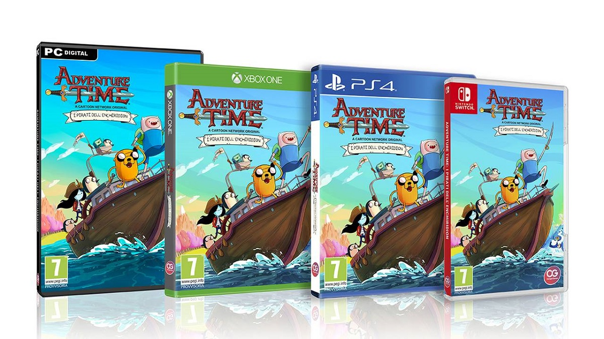 Nuovo Trailer e Informazioni per Adventure Time: I Pirati dell''Enchiridion
