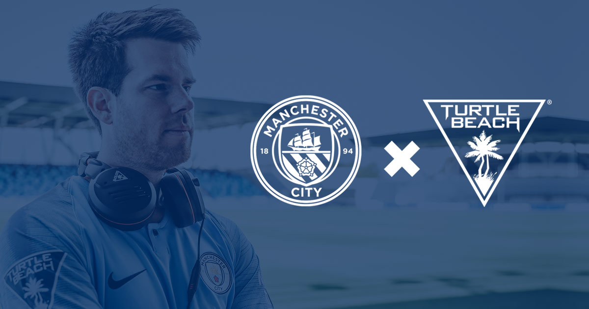 Nasce la partnership tra Manchester City eSports e Turtle Beach