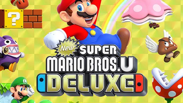 Annunciato New Super Mario Bros. U Deluxe per Nintendo Switch