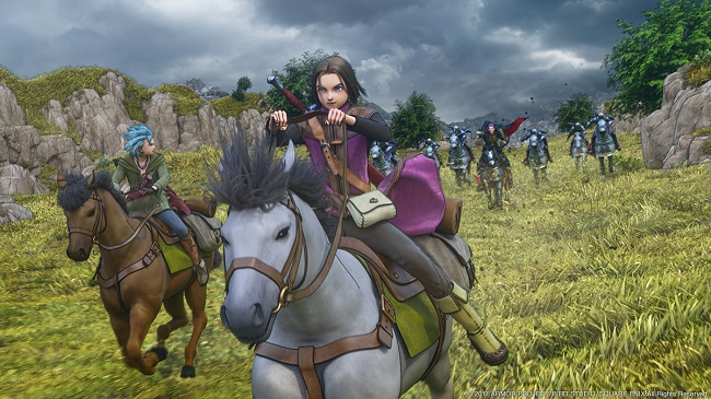 Dragon Quest XI, Yuju Hoori e Yosuke Saito mostrano nuove sequenze gameplay