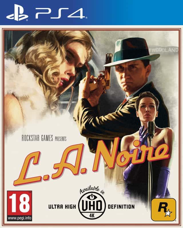 LA Noire: Rockstar Games annuncia quattro riedizioni del gioco
