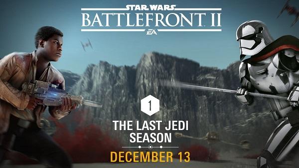 Star Wars Battlefront II, arrivano i contenuti de Gli Ultimi Jedi