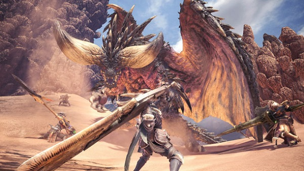 Monster Hunter World: mostrato un nuovo gameplay nelle Coral Highlands