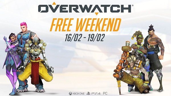 Overwatch giocabile gratuitamente per tutto il weekend su PC e console