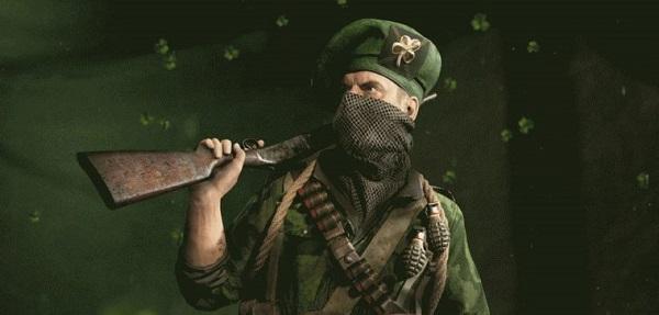 Call of Duty: WWII si tinge di verde in onore di San Patrizio