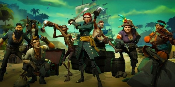 Rare annuncia l'orario di apertura dei server per Sea of Thieves