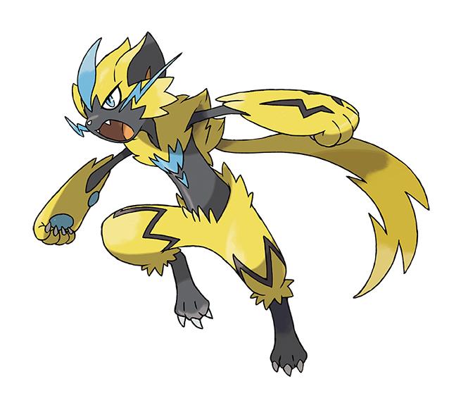 Pokémon Ultrasole e Ultraluna: scoperto Zeraora