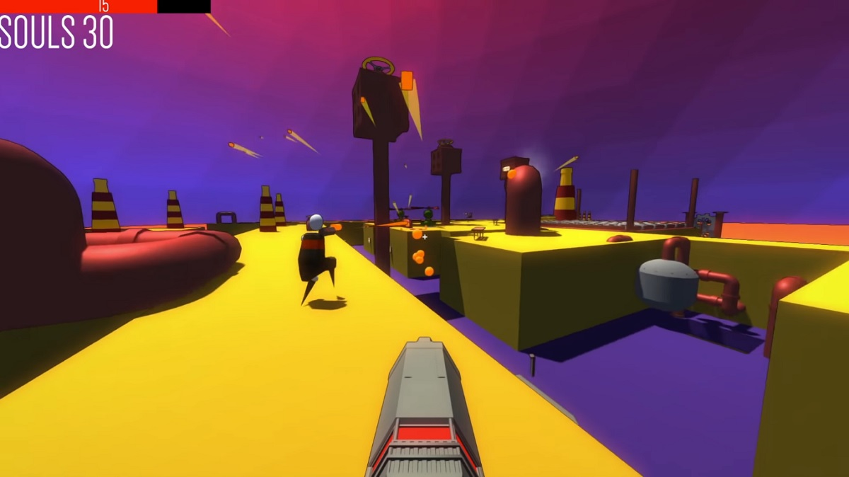 Polygod, sparatutto minimalista, arriva questa settimana su Xbox One, PC e Switch