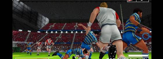 Rugby League Challenge per Playstation PSP