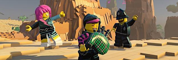 Immagine del gioco LEGO Worlds per Xbox One