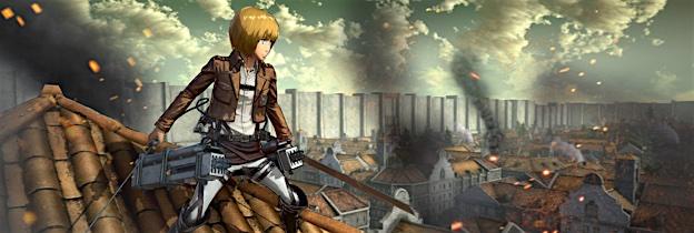 Immagine del gioco Attack on Titan: Wings of Freedom per Xbox One