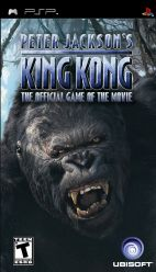 copertina Peter Jackson's King Kong: The Official Game of the Movie