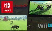 TLoZ: Breath of the Wild - Ecco le differenze tra le versioni Switch e Wii U