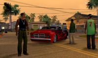 Grand Theft Auto: San Andreas per Xbox 360 con risoluzione a 720 pixel