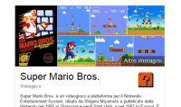 Google crea un easter egg dedicato a Super Mario