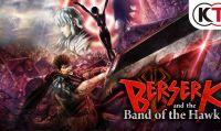 Rilasciato il trailer di lancio di Berserk and the Band of the Hawk