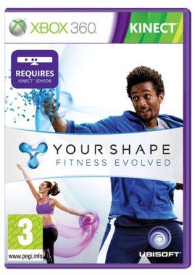 Copertina del gioco Your Shape: Fitness Evolved per Xbox 360