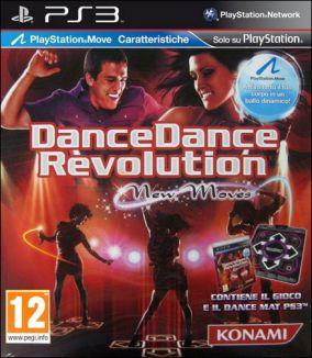 Copertina del gioco Dance Dance Revolution New Moves per Playstation 3