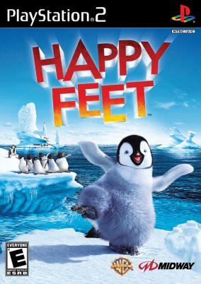 Copertina del gioco Happy Feet per Playstation 2