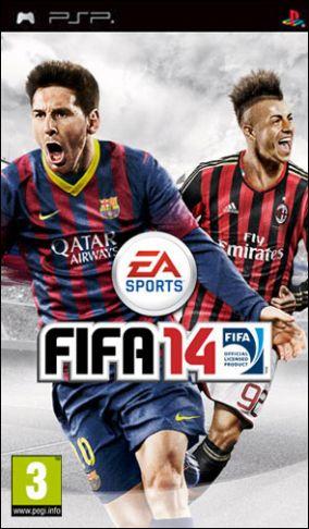 Copertina del gioco FIFA 14 per Playstation PSP