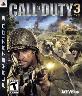Copertina del gioco Call of Duty 3 per Playstation 3