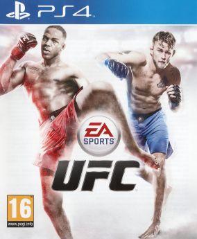 Copertina del gioco EA Sports UFC per Playstation 4