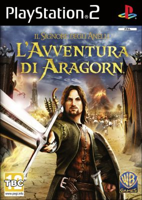 Copertina del gioco Il Signore degli Anelli: L'Avventura di Aragorn per Playstation 2