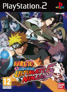 Copertina del gioco Naruto Shippuden : Ultimate Ninja 5 per Playstation 2