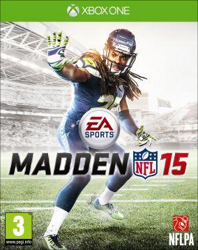 Copertina del gioco Madden NFL 15 per Xbox One
