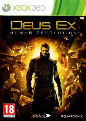 Immagine della copertina del gioco Deus Ex: Human Revolution per Xbox 360