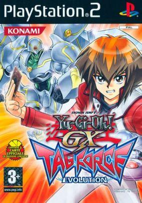 Copertina del gioco Yu-Gi-Oh! GX Tag Force Evolution per Playstation 2