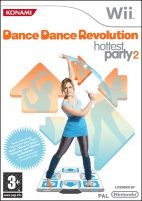 Copertina del gioco Dance Dance Revolution Hottest Party 2 per Nintendo Wii