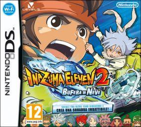 Immagine della copertina del gioco Inazuma Eleven 2: Bufera di Neve per Nintendo DS