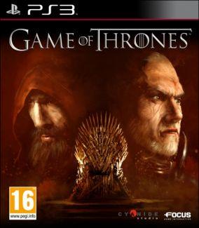 Copertina del gioco Game of Thrones per Playstation 3