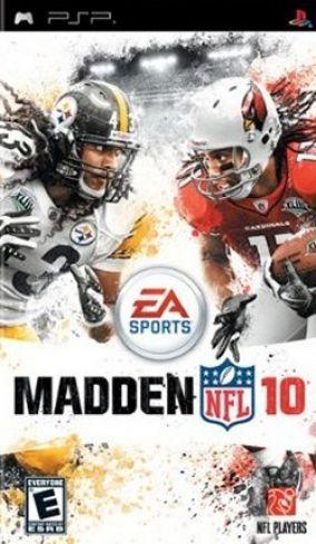 Copertina del gioco Madden NFL 10 per Playstation PSP