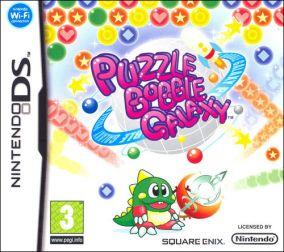 Copertina del gioco Puzzle Bobble Galaxy per Nintendo DS