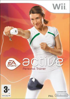 Copertina del gioco EA Sports Active - Personal Trainer per Nintendo Wii