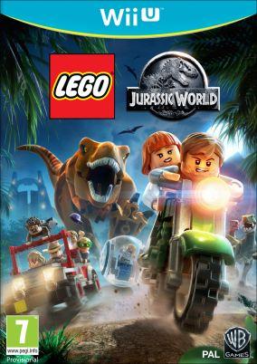 Copertina del gioco LEGO Jurassic World per Nintendo Wii U