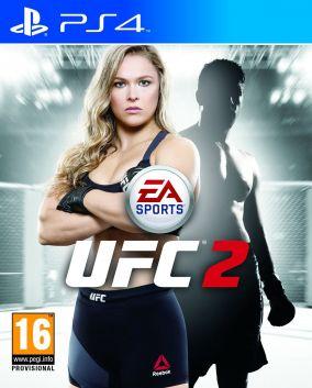 Copertina del gioco EA Sports UFC 2 per Playstation 4