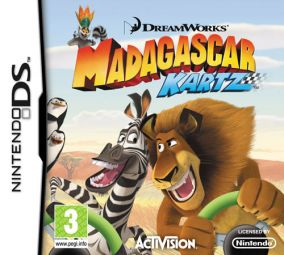 Copertina del gioco Madagascar Kartz per Nintendo DS