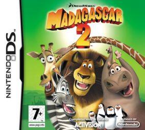Copertina del gioco Madagascar: Escape 2 Africa per Nintendo DS