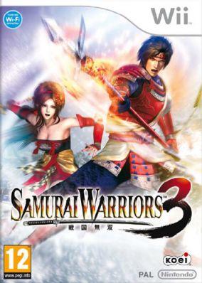 Copertina del gioco Samurai Warriors 3 per Nintendo Wii