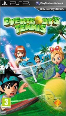 Copertina del gioco Everybody's Tennis per Playstation PSP